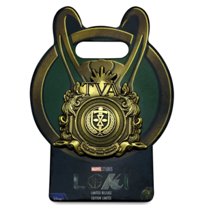 Time Variance Authority Logo Pin – Loki – Limited Release pin