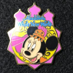Tokyo Disney Sea Aladdins Whole New World Minnie pin