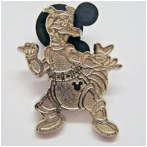 Figment Astronaut - Hidden Mickey (Chaser) pin