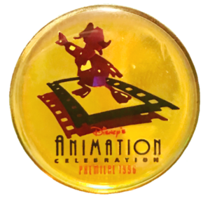 Disney's Animation Celebration - Premiere 1996 - Holographic Donald pin