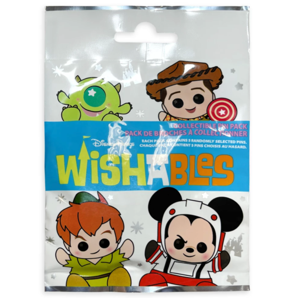 Big Al - Disney Parks Wishables Mystery Pin Set Blind Pack pin