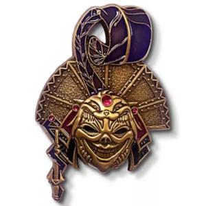 Yzma Midnight Masquerade mask pin