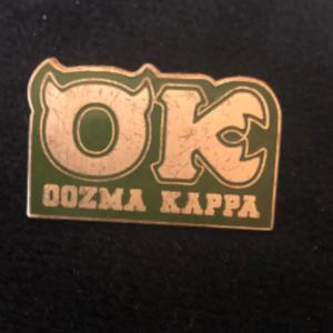 Oozma Kappa pin