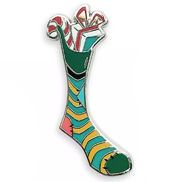 Goofy stocking - Mickey and Friends Holiday Stocking set pin
