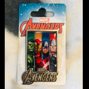Avengers - hulk, iron man, captain America, and Thor  pin