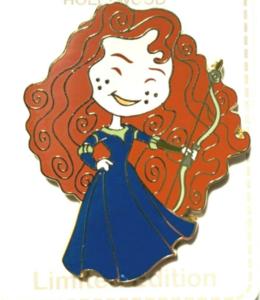 Merida - DSSH Princess Cutie pin