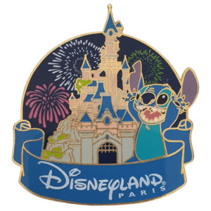 Disneyland Paris Castle - Stitch pin