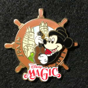 DCL Disney Magic Spain 2011 pin
