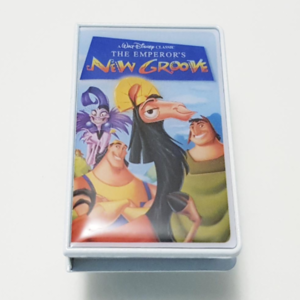 The Emperor's New Groove - VHS Pin (Mystery Pin Collection) pin