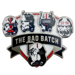 Star Wars: The Bad Batch Helmet Pin – Limited Release pin