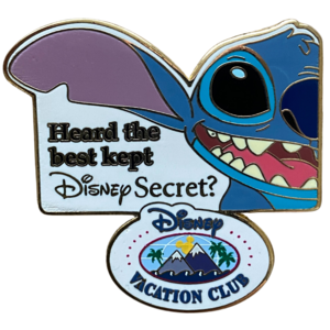 Stitch Disney Secret DVC pin