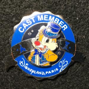 DLP Cast Member 25th Anniversary PT Dale  pin