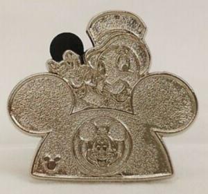 Jiminy Cricket - Hidden Mickey Ear Hat (Chaser) pin