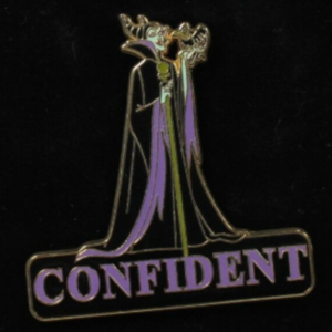 Maleficent Confident - Expressions Series pin