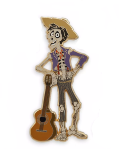 Héctor with Guitar pin