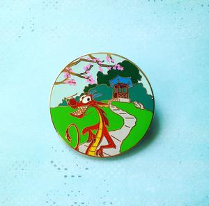 Fantasy Mushu pin pin