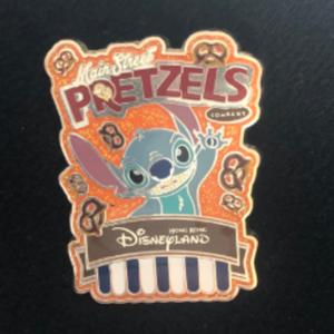 HKDL Pretzels collections - Stitch  pin