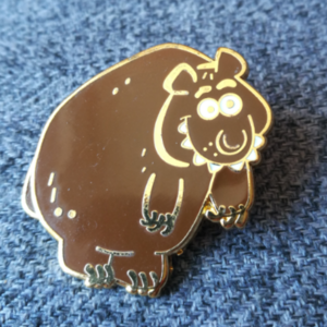Toy Story Midway Mania Bear pin