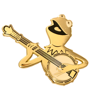 D23 - 2019 (10th Anniversary) Gold Member Gift - The Muppet Movie pin