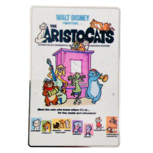 Aristocats - Disney Vintage posters pin
