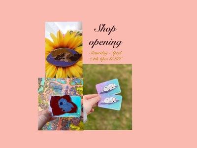 Prettymuchpins shop launch