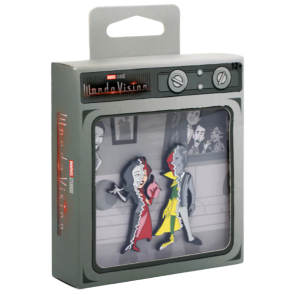 Vision - Marvel WandaVision Split Reality Enamel Pin Set pin