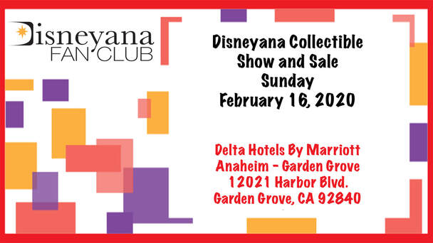 Disneyana Collectible Show and Sale