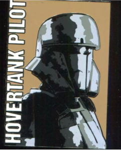 Star Wars - Rogue One Mystery Set - Hovertank Pilot pin