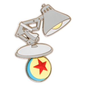 Luxo Jr. on ball pin