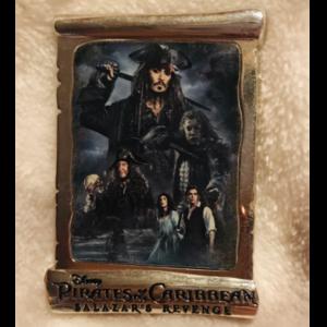 Salazar's revenge - poster pin