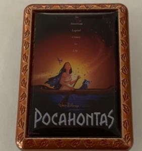 Pocahontas movie poster pin
