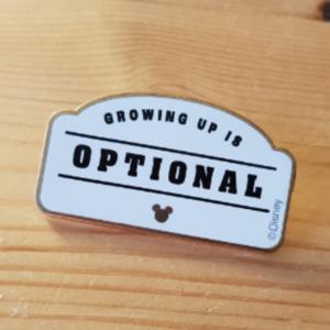 Typo- Name Badge pin