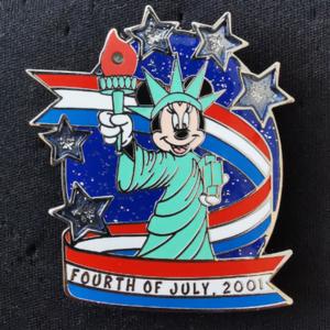 Statue of Liberty Minnie  pin