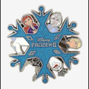 Loungefly Disney Frozen 2 All Cast  pin
