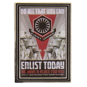Do all that you can - First Order Propaganda Poster Mystery Pin Set – Star Wars: Galaxy's Edge pin