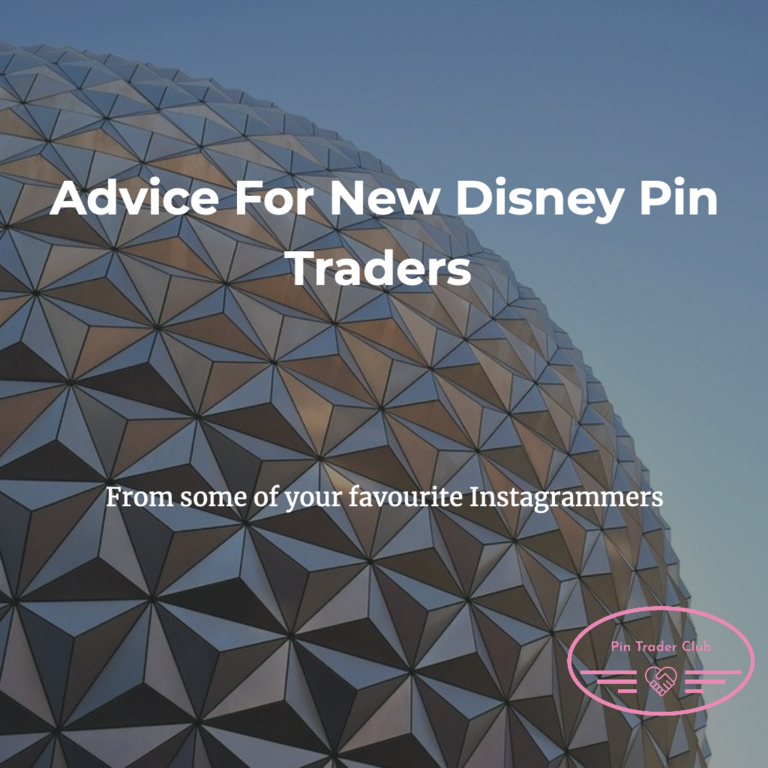 Advice for new Disney Pin Traders!