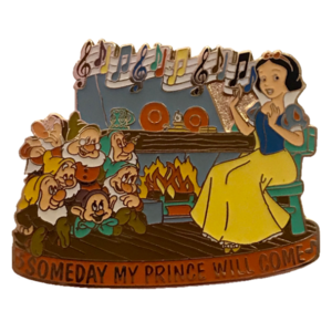 Magical Musical Moments No. 5 - Snow White and the Seven Dwarfs - Someday My Prince Will Come pin