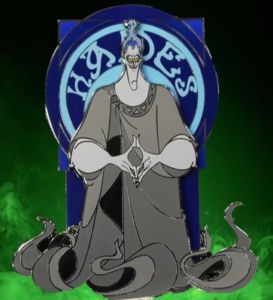 Hooks Pins Blue Hades pin
