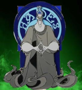 Hooks Pins Blue Hades pin