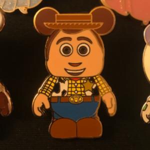 Woody Vinylmation  pin