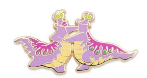 Dancing sea slugs pin