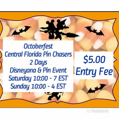 Central Florida Disney Pin Chasers October meet - Day One