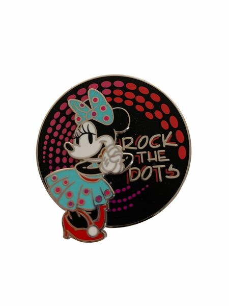 broche Minnie Mouse - Rock the Dots 2021