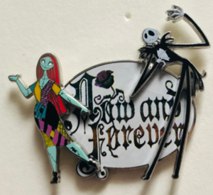Jack and Sally now and forever pin