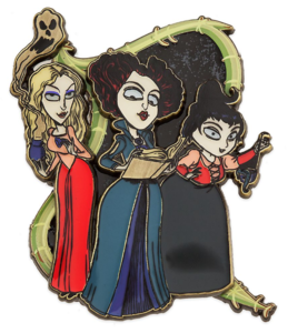 Sanderson sisters with props pin