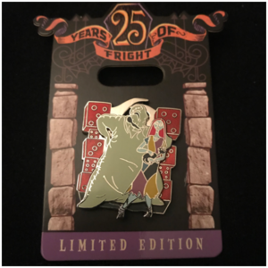 Oogie Boogie & Sally  pin