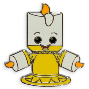 Lumiere - Disney Parks Wishables Mystery Pin Set Blind Pack pin