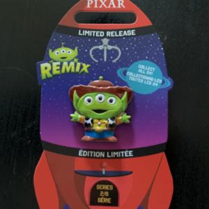 Woody Remix pin