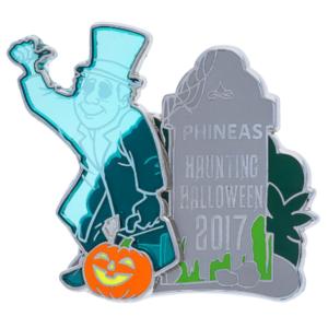 Phineas Haunting Halloween 2017 pin
