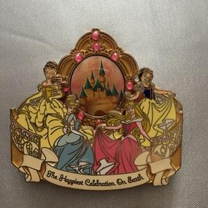 Happiest Celebration on Earth Princess Castle pin